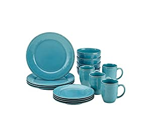 Rachael Ray Cucina Agave Blue 16-pc. Dinnerware Set