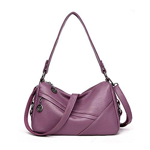 Purple Nouveau Meaeo Rouge Sac Bandoulière Dames Tempérament Sac Messenger Dos À Sac Mode À O6xAdwZ6q