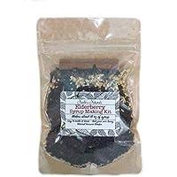 Elderberry Syrup Kit - Makes 18oz of Syrup - DIY - Natural Immune Support - Elderberries - Ginger - Cloves - Cinnamon Sticks - Organic Spices