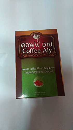 Coffee Aiy Instant Coffee Mixed with Goji Berry