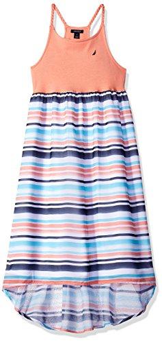 Nautica Girls Multi Stripe Chiffon Asymmetrical product image