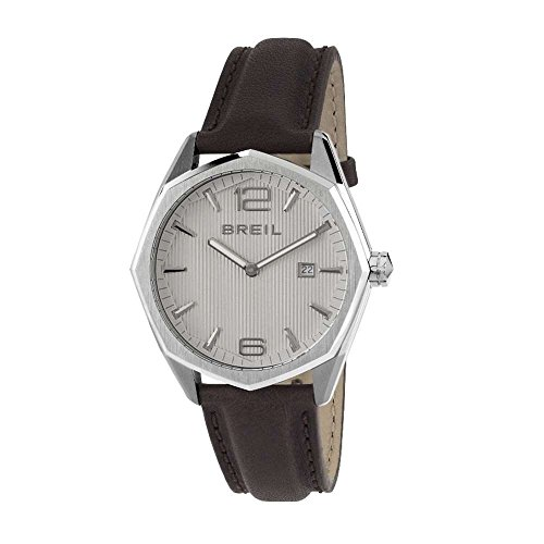 BREIL Watch Eight Male Only Time Black Leather - TW1706