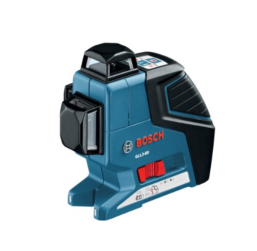 Bosch 3 Plane Leveling-Alignment Laser GLL3-80