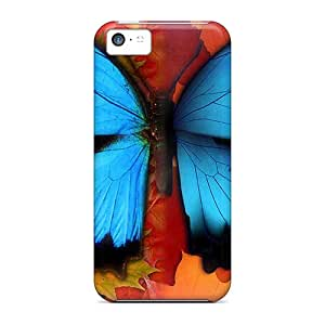 Premium Butterfly Fall On Friday Heavy-duty Protection Case For Iphone 5c