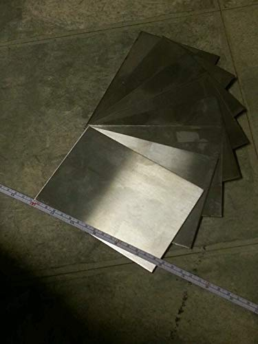 Stainless Steel Sheet 4 Pieces 24 gage 6