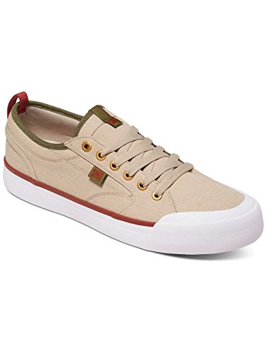Zapatos Dc Evan Smith Tx Tan-Verde (Eu 39 / Us 7 , Marron)