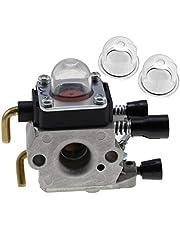 B Blesiya Primer glödlampa kolhydratsats för Stihl KM55 FS38 FS45 FS46 FS55 FC55# 4140 120 0619