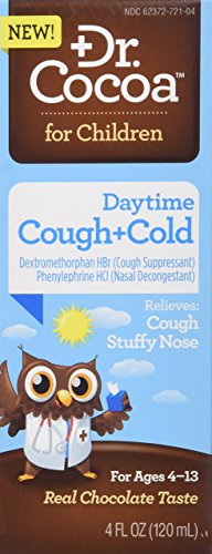- Dr. Cocoa Cough and Cold Daytime Medication,Real Chocolate Taste, 4 Fluid Ounce