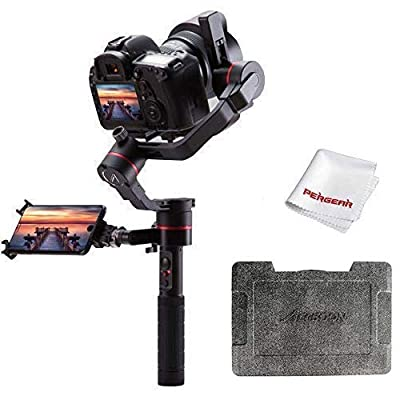 Image of Stabilizers Accsoon A1-PRO Professional 3-Axis Handheld Gimbal Stabilizer for Cameras Loading 3.6KG Cine Eye 1080P Wireless Image Transmission,Low Latency & Real-time Monitoring, Support Custom 3D Lut Loading