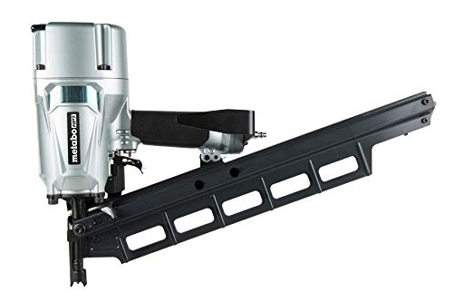 Metabo HPT NR83A5(S) Pneumatic Framing Nailer, 2-Inch up to 3-1/4-Inch Plastic Collated Full Head Nails, 21 Degree Magazine, Selective Actuation Switch, Rafter Hook 5-Year Warranty (Renewed)