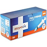 10ml Oral Syringes - 100 Pack – Luer Slip Tip, No Needle, Individually Blister Packed - Medicine Administration for Infants, Toddlers and Small Pets