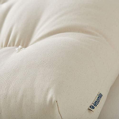 Futón para cuna de mimbre, Moses Basket, fabricado en algodón 100 ...