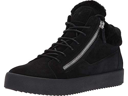 Giuseppe Zanotti Men's May London Mid Top Shearling for sale  Delivered anywhere in USA