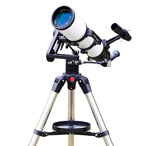 (Fbestfish Astronomical Telescope HD, TJ2-HS80DS Astronomical Refractor Telescope, German Technology Scope)