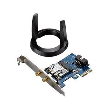 ASUS 802.11ac Wireless-AC1200 Bluetooth 4.0 PCIe/mPCIe Adapter (PCE-AC55BT)