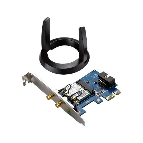 Asus PCE-AC55BT Dual-Band Wireless-AC1200 Bluetooth 4.0 PCI-Express Adapter
