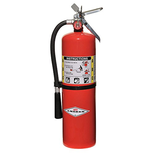Amerex Fire Extinguisher, Dry Chemical, 10A 120B C, 20 Lbs