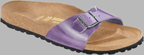 Birkenstock Sandals ''Madrid'' from Leather in Antique Lavender 37.0 EU R