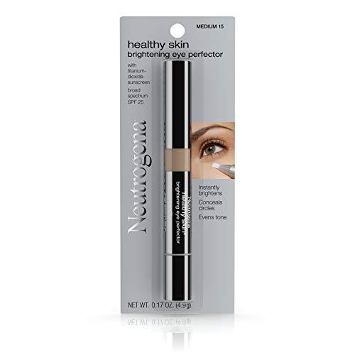 Neutrogena Healthy Skin Brightening Eye Perfector Broad Spectrum Spf 25, Under Eye Concealer, Medium 15,.17 Oz.