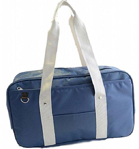 - Urban Bridge Japanese School Bag PDA correspondence size Boston bag type Cosplay (Navy)