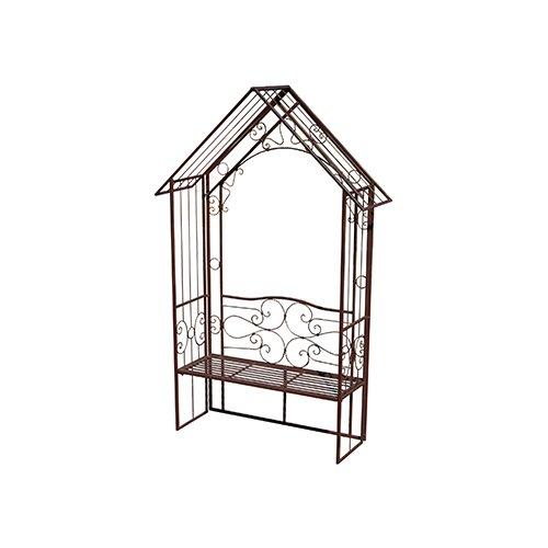 ガーデンアーチ(ベンチ付き) GARDEN COLLECTION [85721] エクステリア 庭飾り ガーデンオーナメント 置物 おしゃれ オブジェ B079L2VDWW
