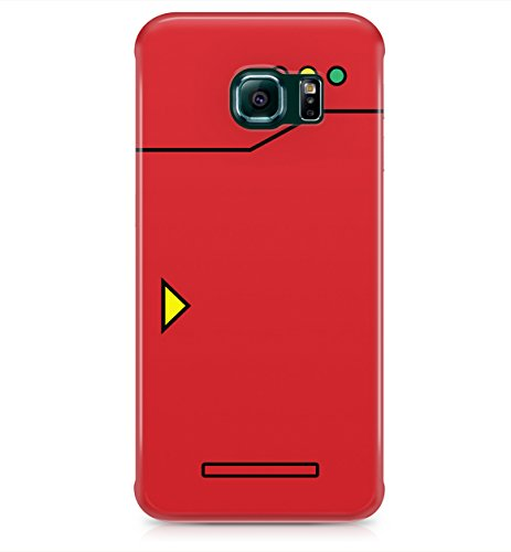 Price comparison product image Pokemon Pokedex Gameboy Nintendo Hard Plastic Snap-On Case Cover For Samsung Galaxy S6 Edge Plus