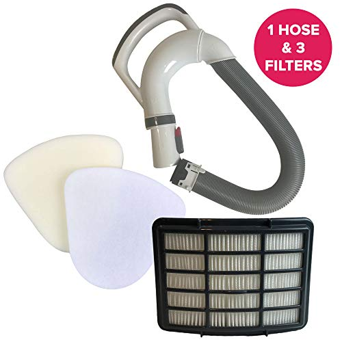 Think Crucial Replacement Compatible with Shark HEPA Style, Foam, Felt Filter & Hose Handle Kit - 9