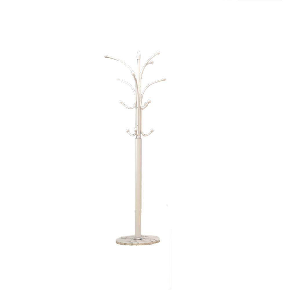 H 175x40cm(69x16inch) Concise Multifunction Coat Rack with Storage Shelves, Metal Elegant Coat Stand, Coat hat Tree, Hanger Holder, Hall Home Rustproof-I 175x40cm(69x16inch)