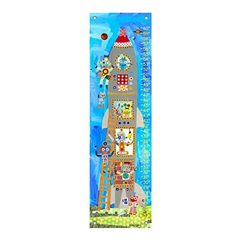 Oopsy Daisy Rocket Robots Growth Chart 26228