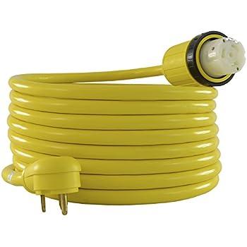 Amazon.com: Conntek 14436 RV Power Cord, RV 30-Amp to 50