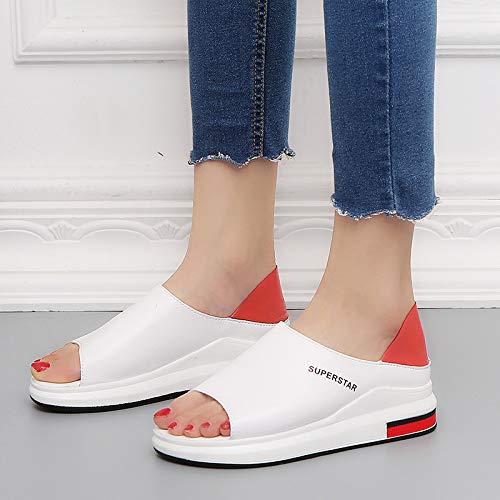 Chaussures Taille coloré 38 Noir Rouge ZHRUI EU dUzFazn