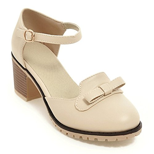 Eclimb Womens Party Evening Dress Shoes Creamy-White OWmQ1AcQ