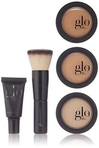 Glo Skin Beauty Meet Your Match Mineral Makeup 3-Step Foundation Kit, Honey, 2.9 ()