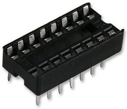 USA SELLER 20 x 14 pin DIP IC Sockets Adaptor Solder Type Socket Free Ship