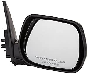 OE Replacement Toyota RAV4 Passenger Side Mirror Outside Rear View (Partslink Number TO1321216)