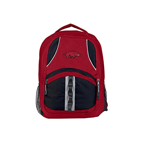 Officially Licensed NCAA Arkansas Razorbacks Captain Backpack Arkansas Razorbacks Ncaa Applique