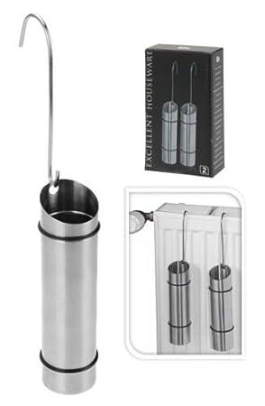 Amazon.com: Juego de 2 humidificadores de aire de acero ...