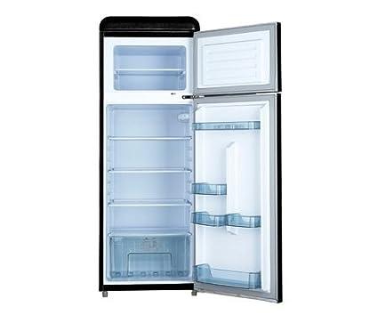 Retro Kühlschrank Respekta : Respekta retro ks schwarz amazon elektro großgeräte