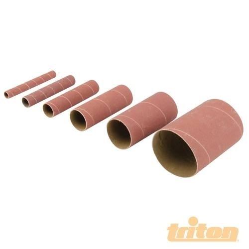 Triton tss80g Aluminiumoxid-Schleifhülsen, 6-tlg.