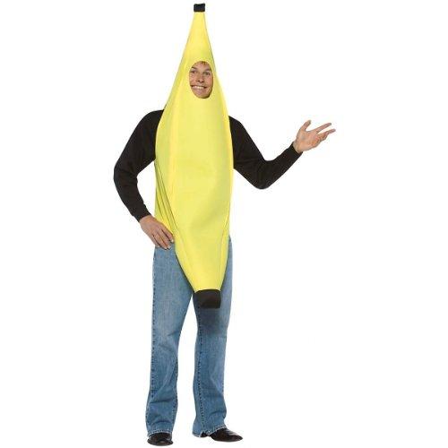 Price comparison product image Rasta Imposta Lightweight Banana Costume, Yellow, One Size