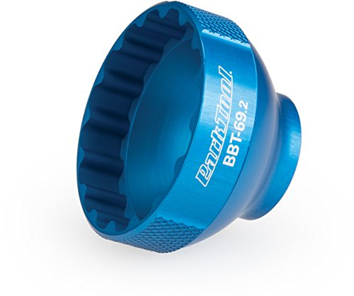 (Park Tool BBT-69.2 Bottom Bracket Tool Blue, 44mm )