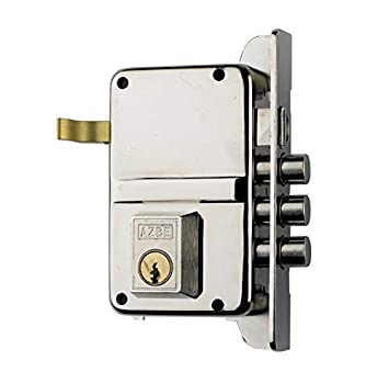 Azbe 3012140 Cerradura Seguridad. 8-hn/hs3/izquierda: Amazon ...