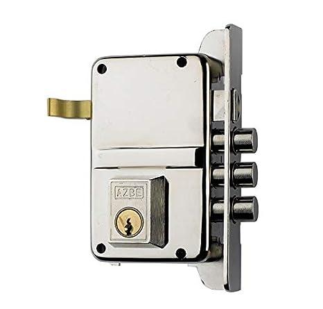 Azbe 3012140 Cerradura Azbe Seguridad 8-hn/hs3/ Izquierda: Amazon.es: Bricolaje y herramientas