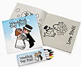 Children's Wedding Activity Sets (12 Count)/Toys/Reception Activity/Coloring Book
