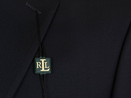 Ralph-Lauren-Mens-Single-Breasted-2-Button-Navy-Blue-Wool-Blazer-Sport-Coat-Jacket