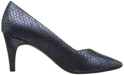 Aerosoles A2 Donne Pompa Vestito Esperto Blue Snake