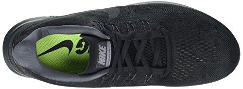 Nike Wmns Free RN 2017, Zapatillas de Running Para Mujer Negro (Black/anthracite-dark Grey-cool Grey 003)