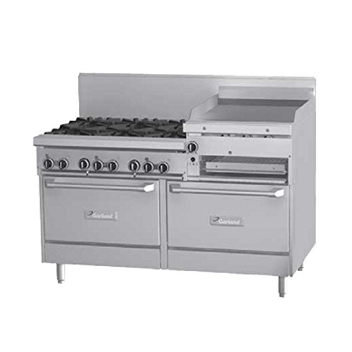 Series Gas Restaurant Range (Garland G60-6R24RR Gas Range Restaurant Series 60