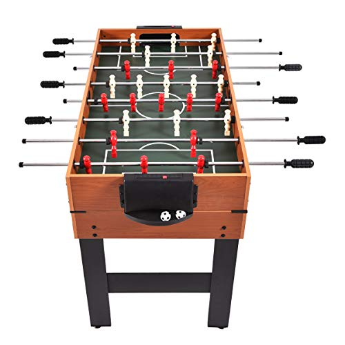 Giantex Multi Game Table Pool Hockey Foosball Table Tennis Billiard Combination Game Table (48 3-in-1)