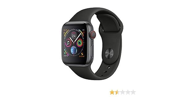 Bluetooth Reloj Inteligente W54 con Pantalla táctil batería Grande cámara para iOS iPhone teléfono Android,Black